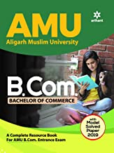 entrance amu b.com guide