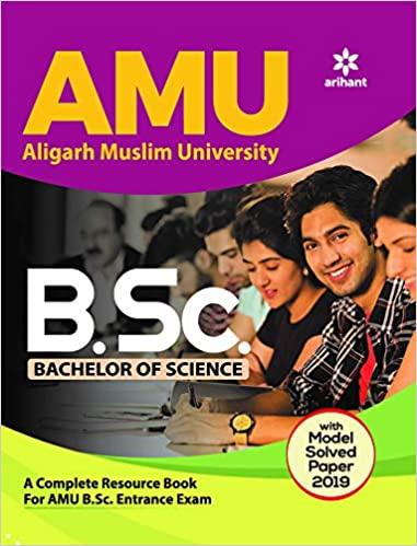 AMU Aligarh Muslim University B.Sc. Bachelor Of Science 2020 Paperback – 19 November 2019