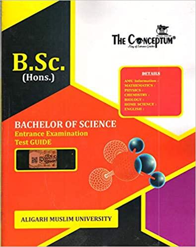 AMU B.Sc Entrance Guide Paperback – 1 January 2019