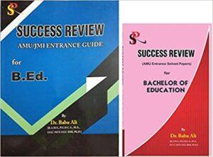Combo Offer Success Review AMU JMI Entrance Guide for B.Ed. & Success Review AMU Entrance Papers for B.Ed. Paperback 1 January 2019