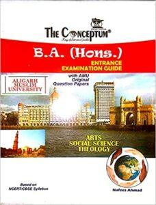 Conceptum amu BA Paperback – 1 January 2016