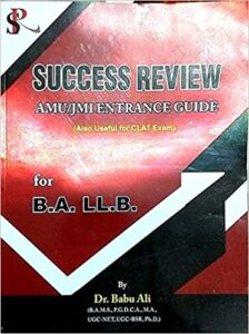 Success Review AMU/JMI Entrance Guide for B.A. LL.B. Paperback Bunko – 1 January 2019