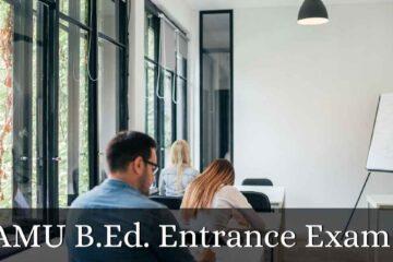 AMU B.Ed. Entrance Exam