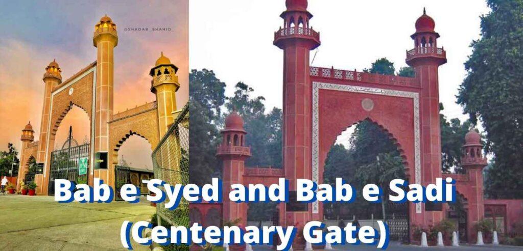 Bab e Syed and Bab e Sadi (Centenary Gate)