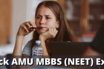 Crack AMU MBBS (NEET) Exam